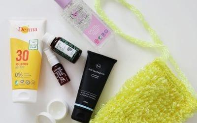 Beauty produkter til din ferie