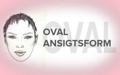 Ovalt ansigt – Øjenbryn form der passer