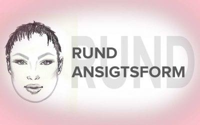 Rundt ansigt – Bedste øjenbryn form til denne ansigtsform